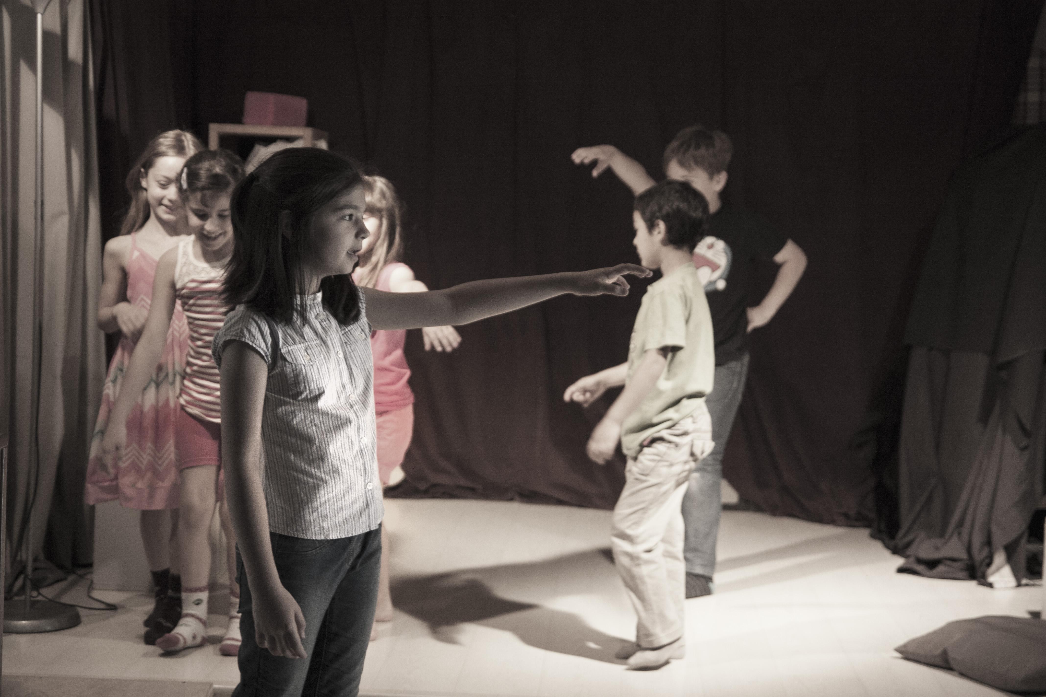 Cursos de teatro: niños y adolescentes